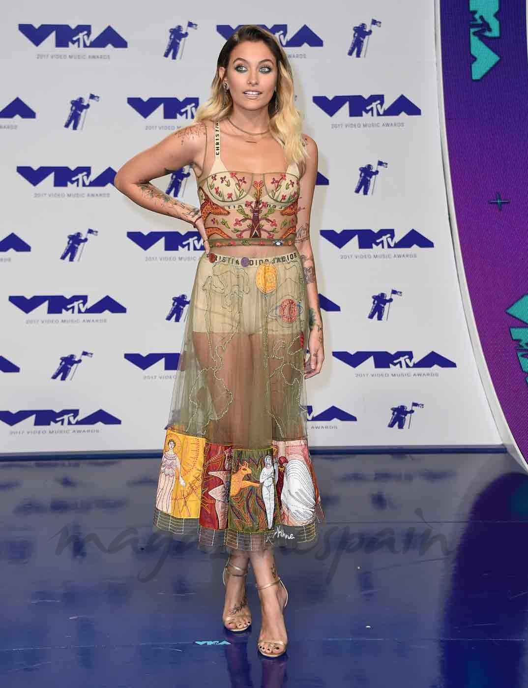 Paris Jackson - MTV Video Music Awards