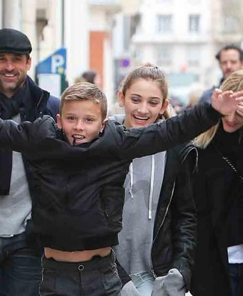 Patrick Dempsey y su familia, vacaciones en París