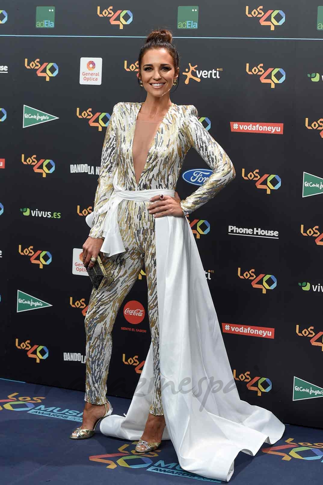 Paula Echevarría premios Los 40