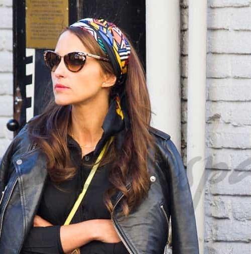 Paula Echevarría glamour a pie de calle