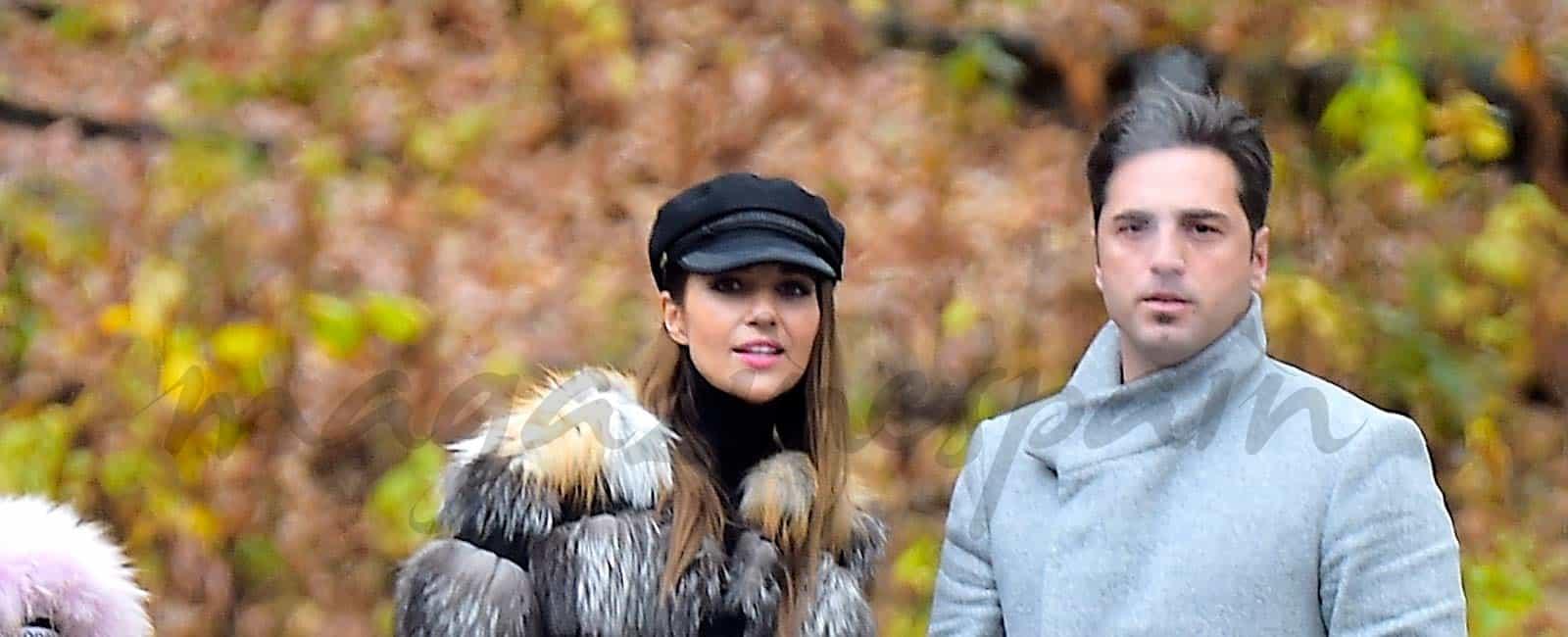 Paula Echevarría y David Bustamante vacaciones en familia en Nueva York