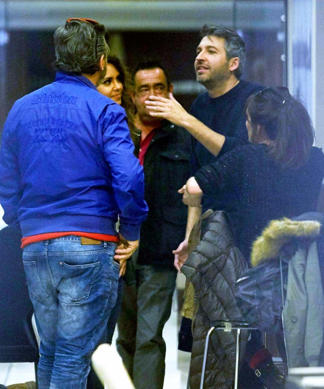 Cristina Pedroche, Frank Blanco y Crsitina Morgade