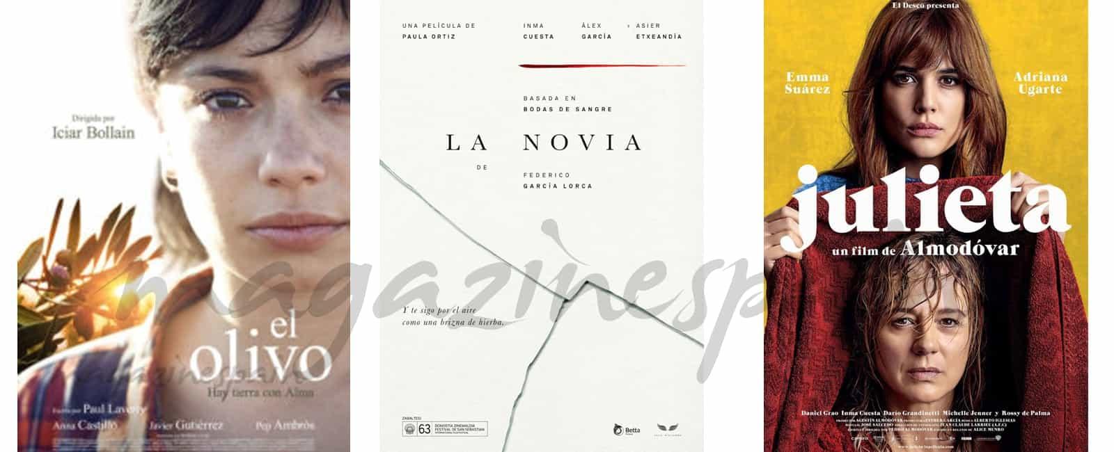 Julieta, El olivo y La novia, seleccionadas para los Óscar de Hollywood