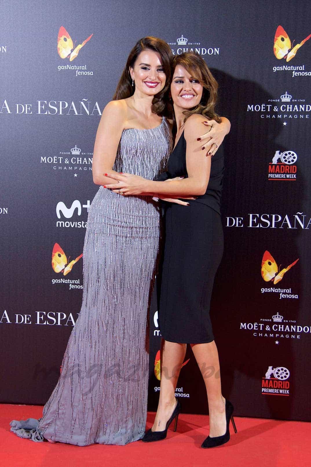 Penélope Cruz y Mónica Cruz