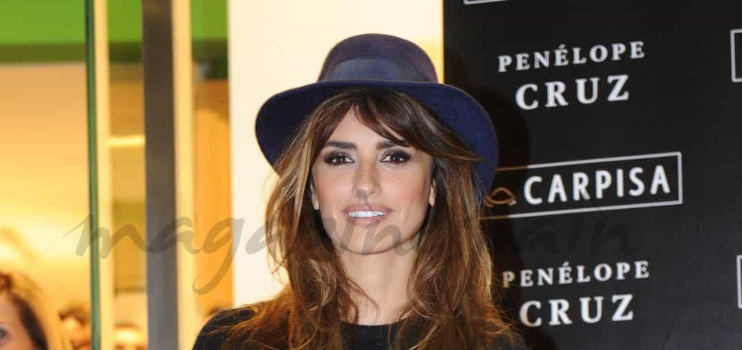 Penélope Cruz diseñadora de bolsos y maletas