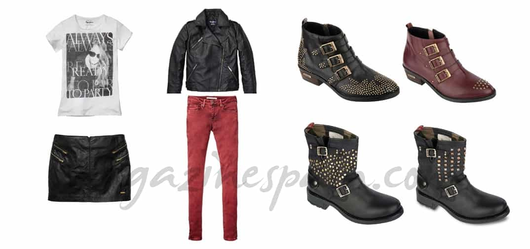 ¿Te atreves con un look rockero?