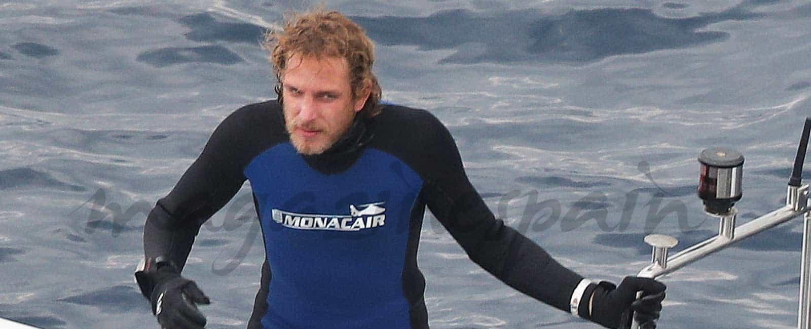Andrea Casiraghi pasión por el mar