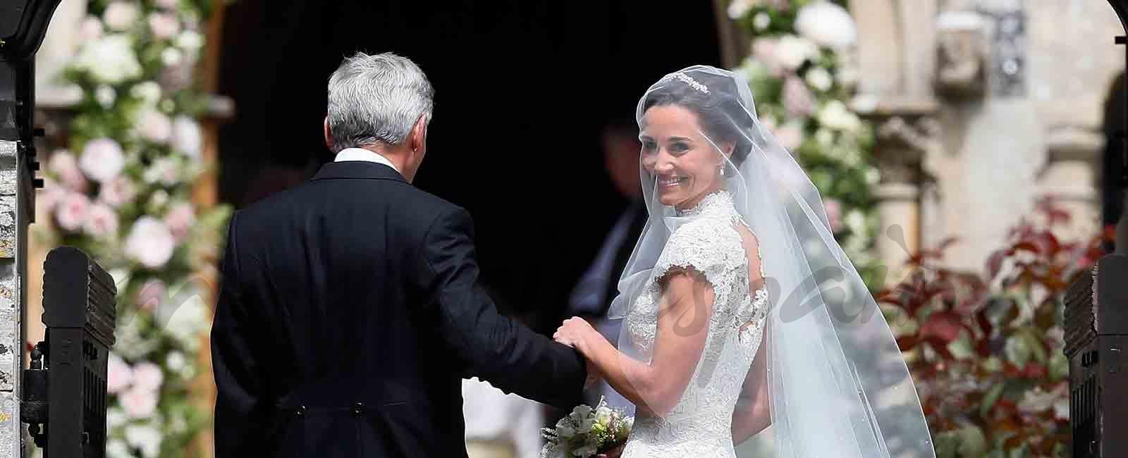 Pippa Middleton y James Matthews boda en la iglesia St Mark, en Englefield Estate