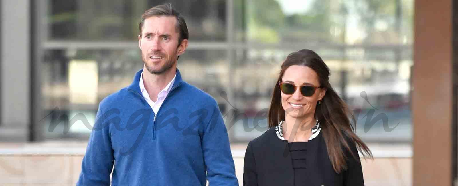 Pippa Middleton está embarazada de su primer hijo