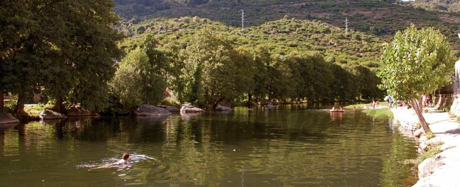 Las piscinas naturales del Valle del Jerte