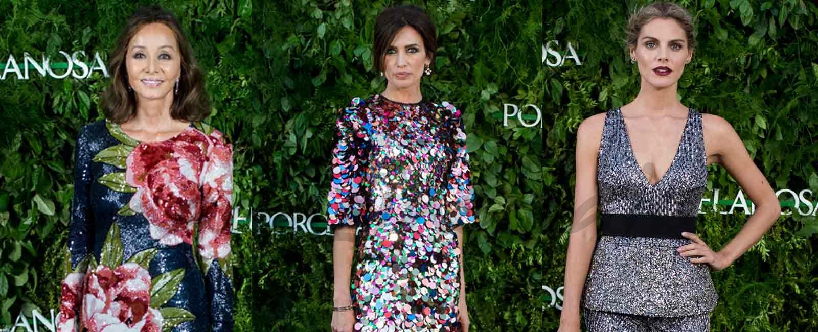 Isabel Preysler, Nieves Álvarez y Amaia Salamanca… Tres estilos diferentes pero igual de impresionantes