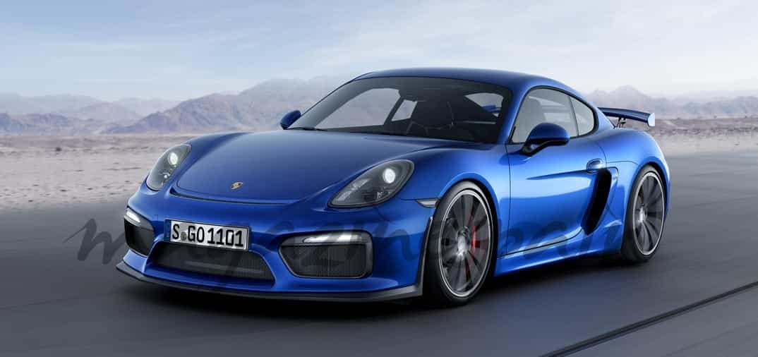 Nuevo Porsche Cayman GT-4