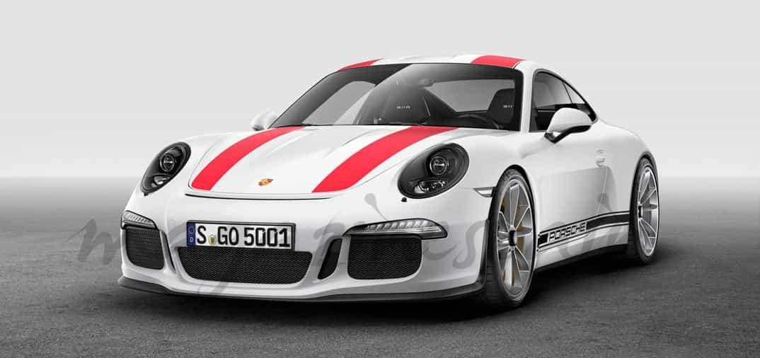 """Nuevo Porsche R, """"edición especial limitada"""""""