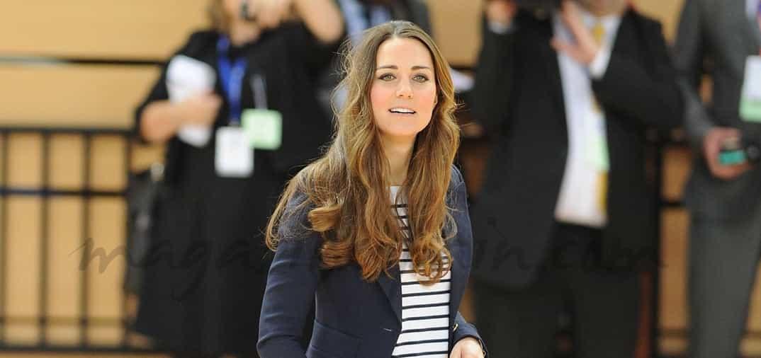 A los tres meses de ser madre… Kate Middleton recupera su figura