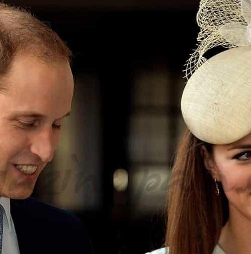Los Duques de Cambridge bautizan a su hijo