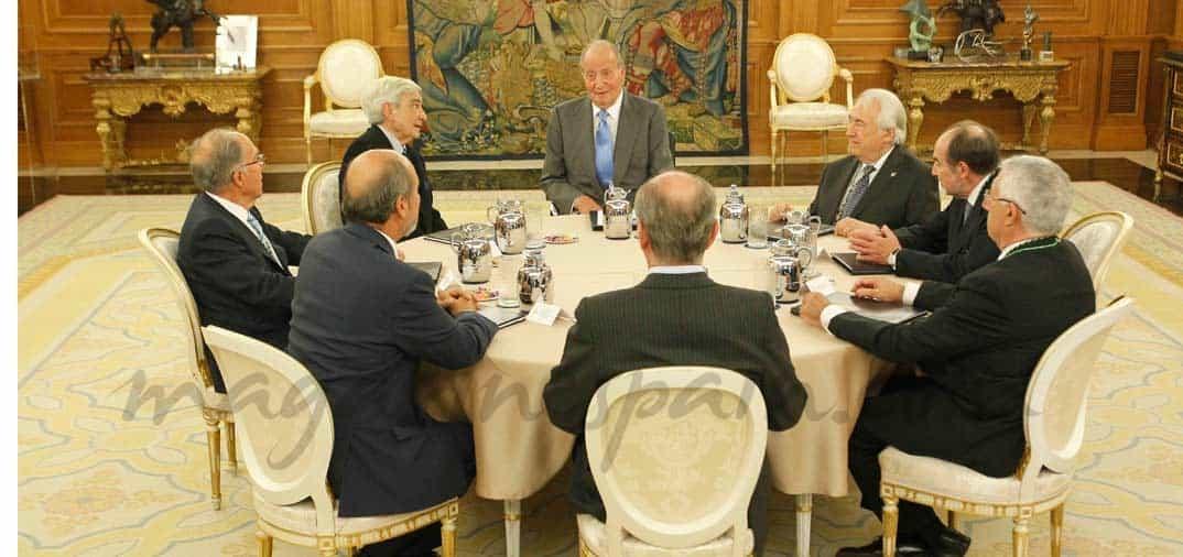 El rey Juan Carlos, se recupera
