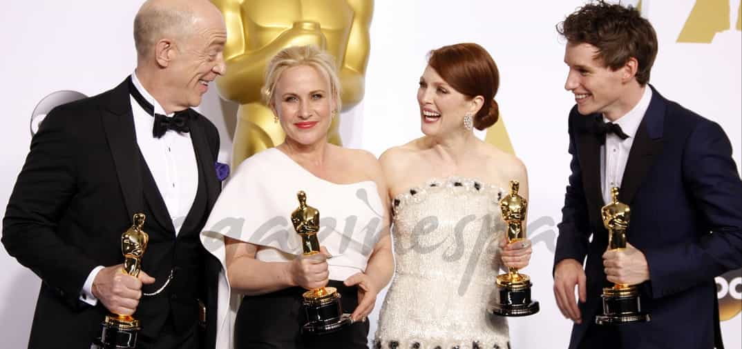 Oscars de Hollywood, los Premiados
