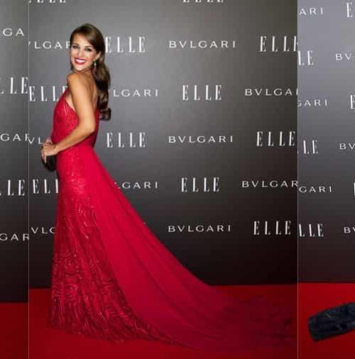Encuentro de bellezas sobre la alfombra roja de los Premios Elle