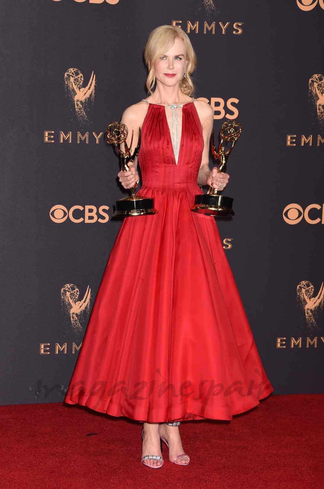 Mejor Actriz: Nicole Kidman por 'Big Little Lies'.