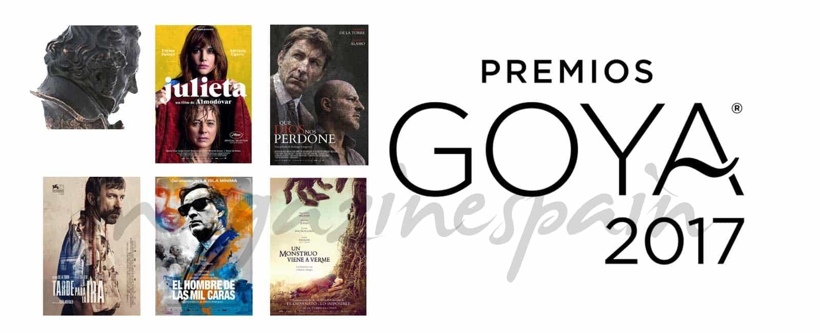 ¿Cuál es tu película favorita para ganar el Goya 2017?