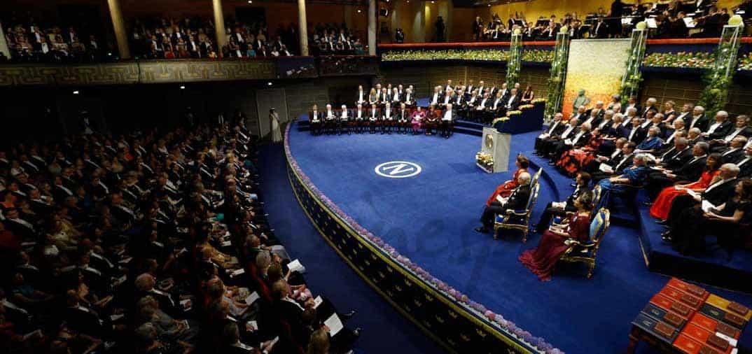 Entrega de los Premios Nobel en Suecia