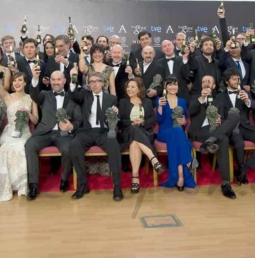 Los ganadores de los Premios Goya