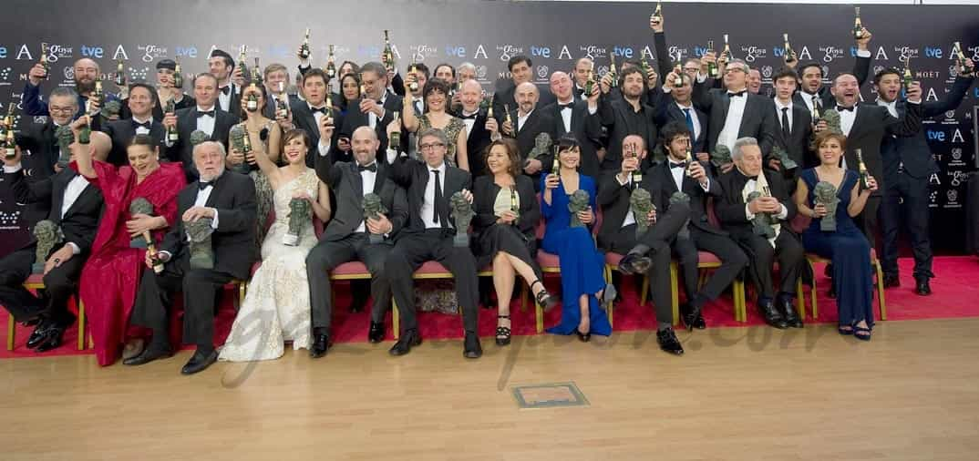 Premios Goya 2014- Los Premiados