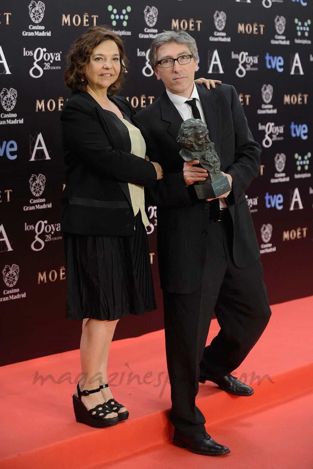 Cristina Huete y David Trueba