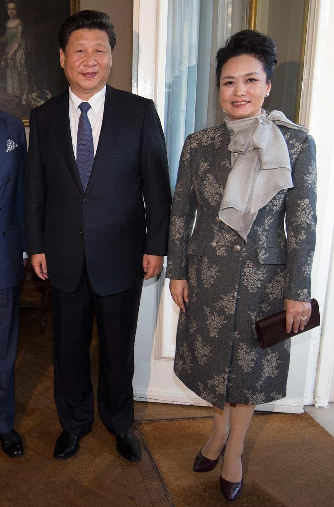 presidente-de-china-con-su-esposa
