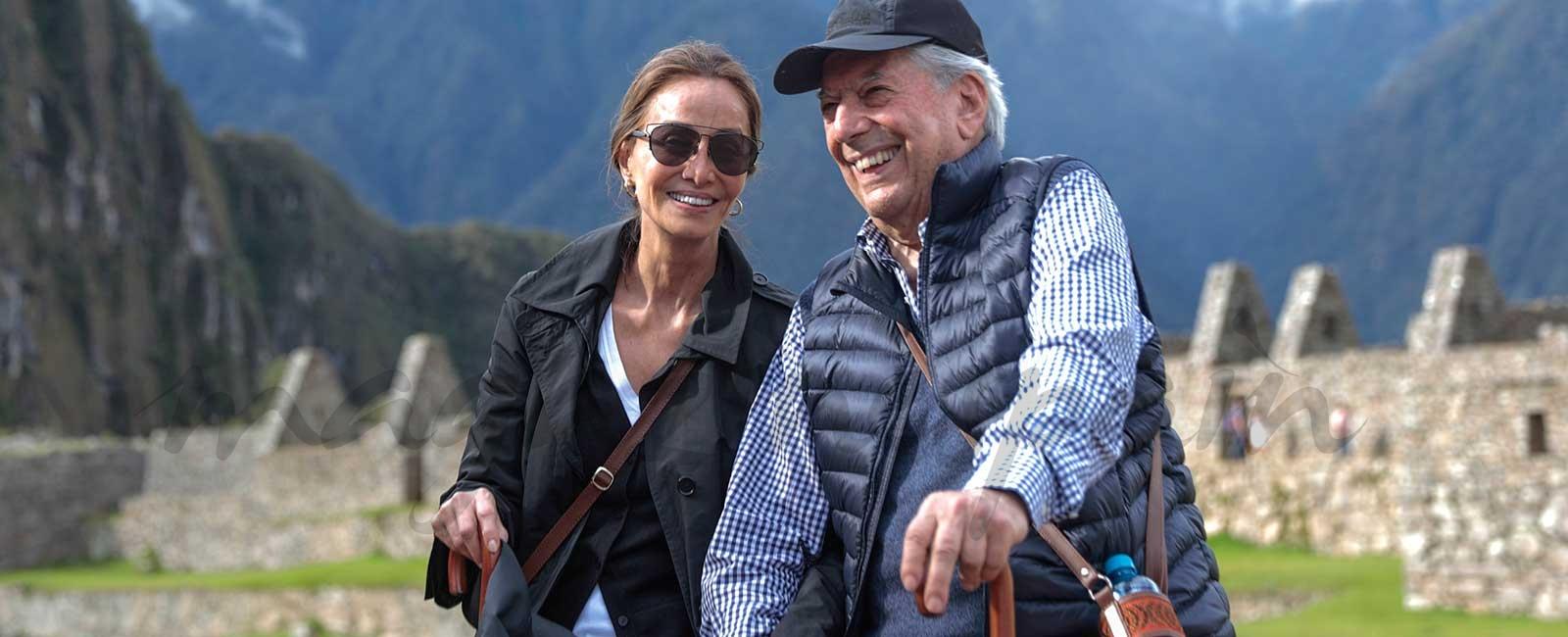 Isabel Preysler y Mario Vargas Llosa, última parada de su tour por Perú, Machu Pichu