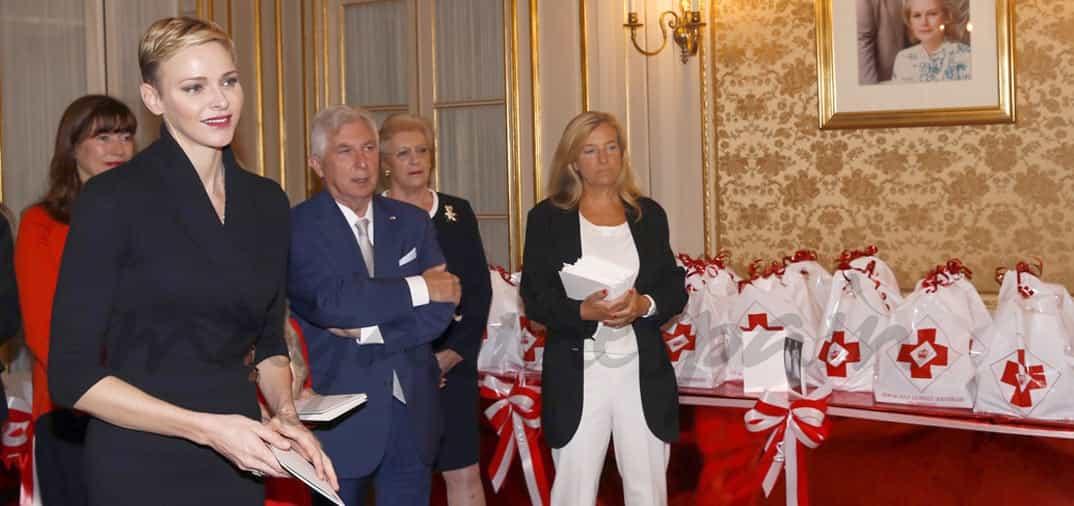 El nuevo look de la princesa Charlene de Mónaco