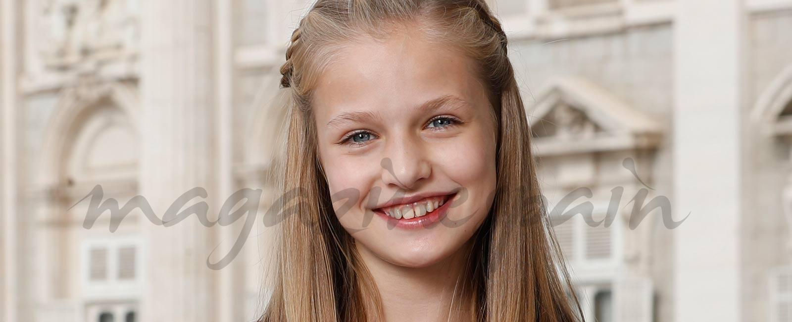 La princesa Leonor, retrato oficial en su 12 cumpleaños
