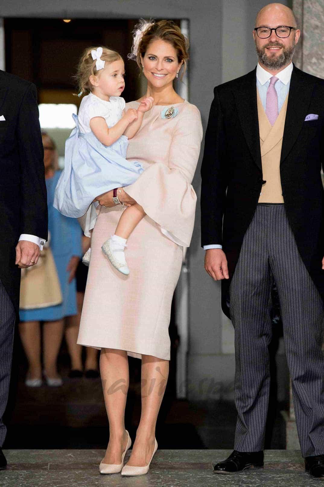 Princesa Madeleine de Suecia y su hija Leonor