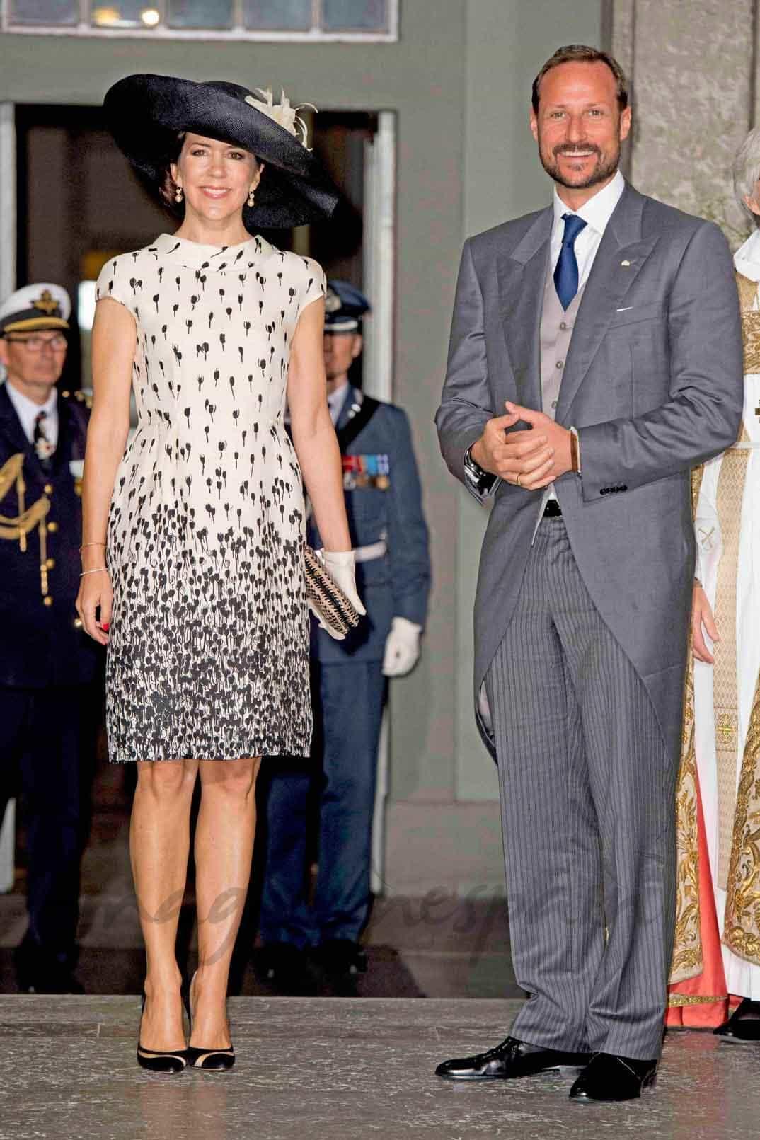 Princesa Mary de Dinamarca y Príncipe Haakon de Noruega