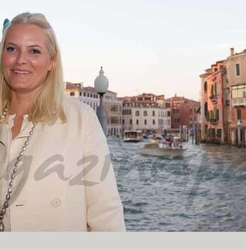 La princesa Mette-Marit en Venecia
