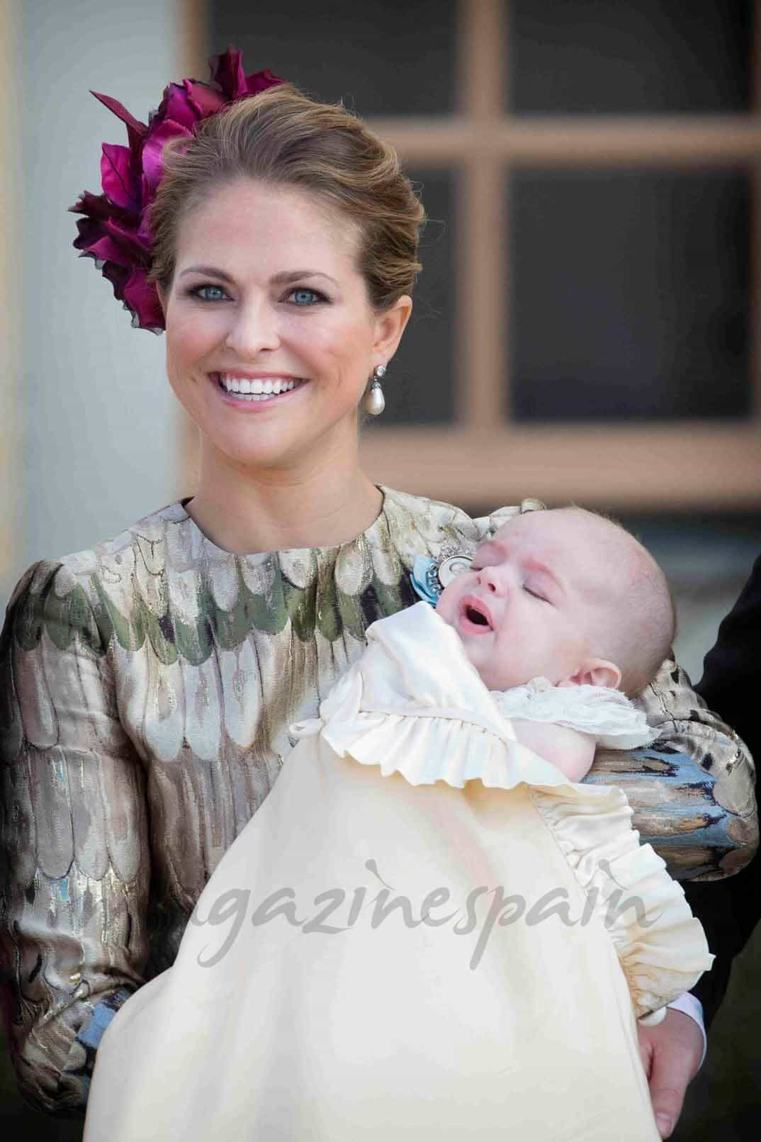 princesa magdalena de suecia y el principe nicolas
