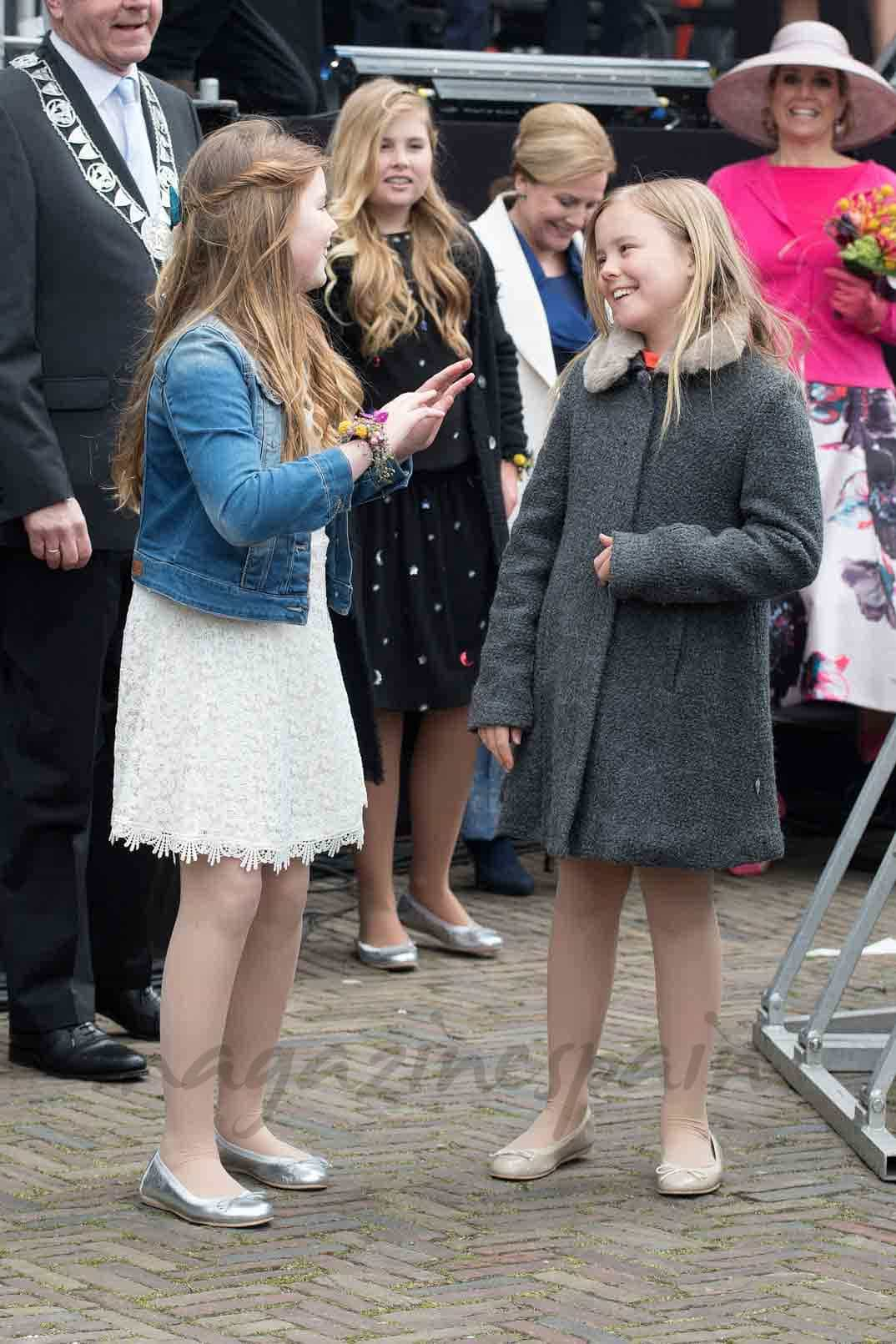 princesas-catherina-alexia y ariana-de-holanda-