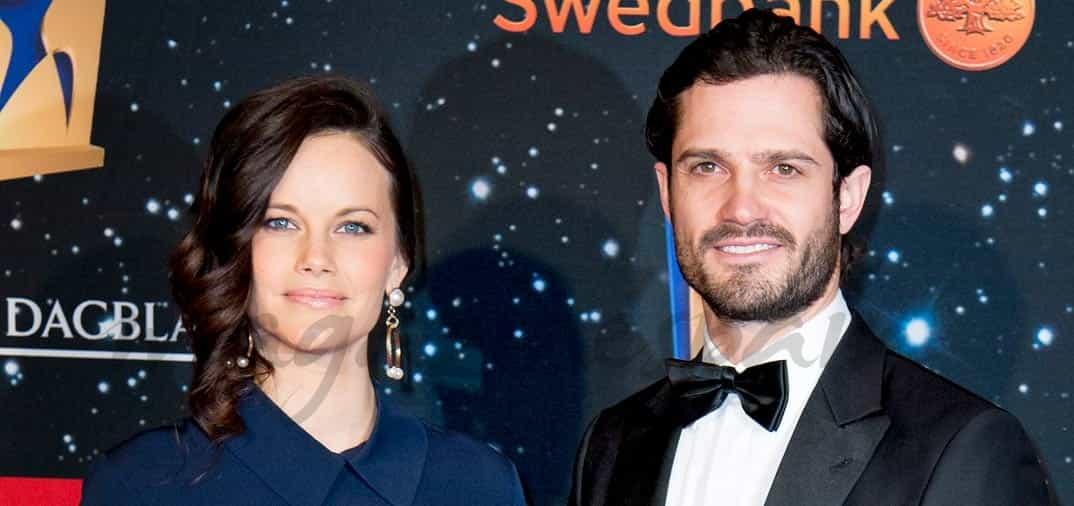 La princesa Sofía de Suecia, presume de embarazo