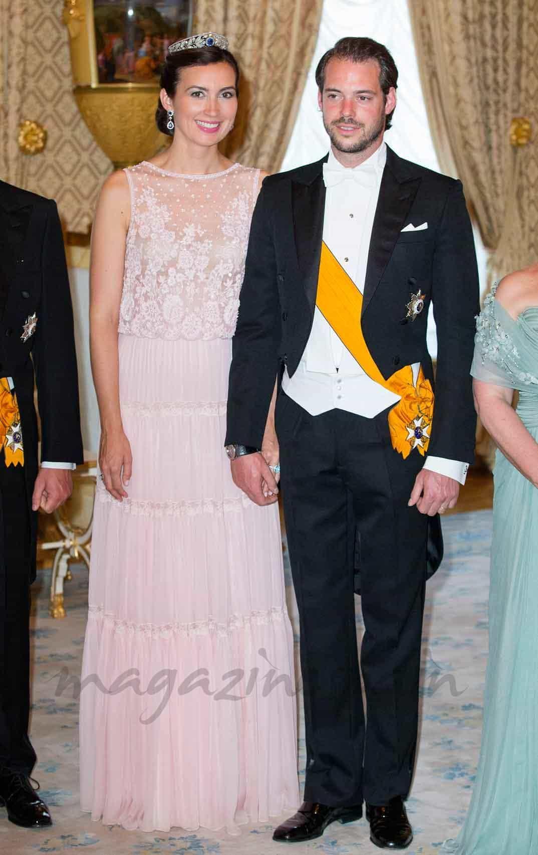 principe-felix-y-princesa-claire en el dia de luxemburgo