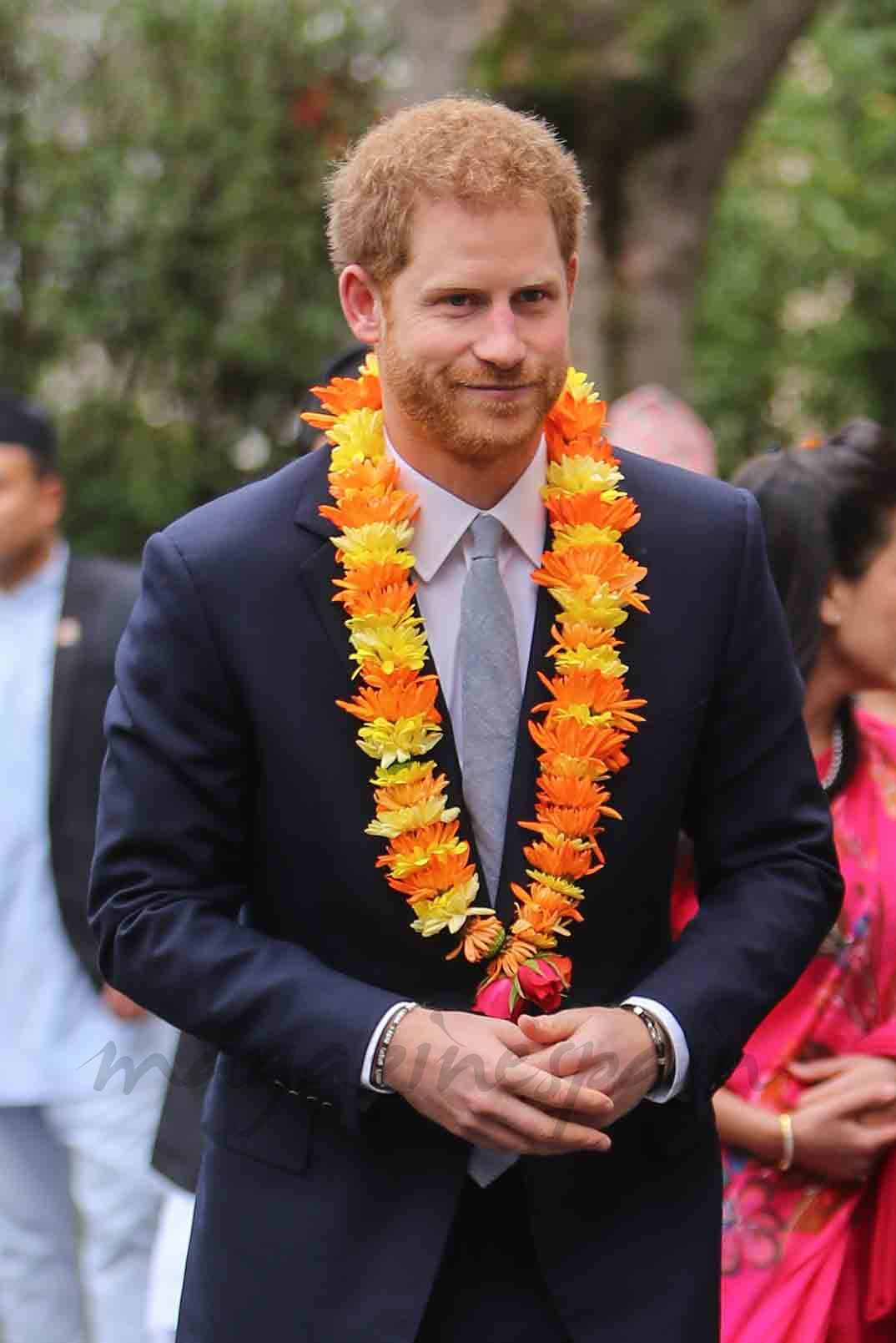 principe harry en nepal