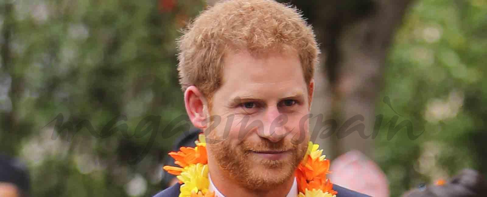 Príncipe Harry continúa con su agenda, a miles de kilómetros de su novia