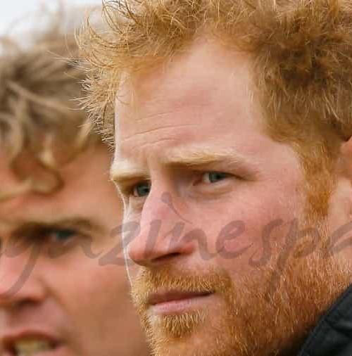 El nuevo look del príncipe Harry a sus 31 años
