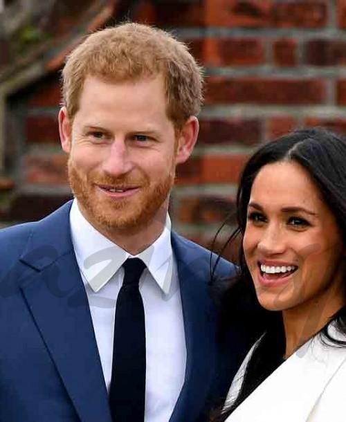 Príncipe Harry y Meghan Markle: Su primer posado oficial