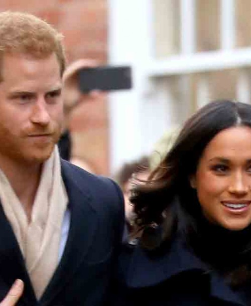 Primer acto oficial del príncipe Harry y Meghan Markle
