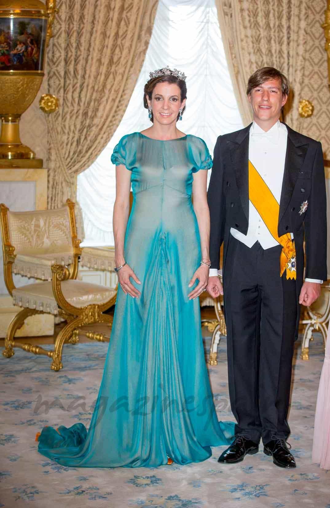 principe-louis-y-princesa-tessy en el dia de luxemburgo