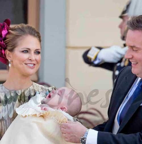 Bautizo del príncipe Nicolás, hijo de Magdalena de Suecia y Chris O'Neill
