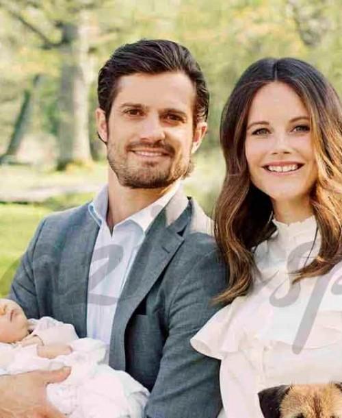Carlos Felipe y Sofía de Suecia, presentan a su hijo el príncipe Alexander