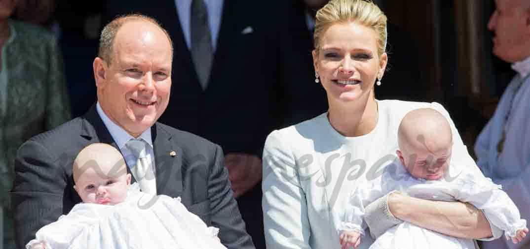 Bautizo de Jacques y Gabriella de Mónaco