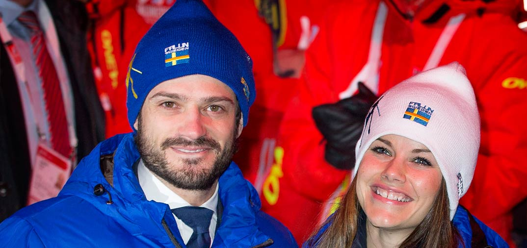 La felicidad del príncipe Carlos Felipe de Suecia y su bella prometida