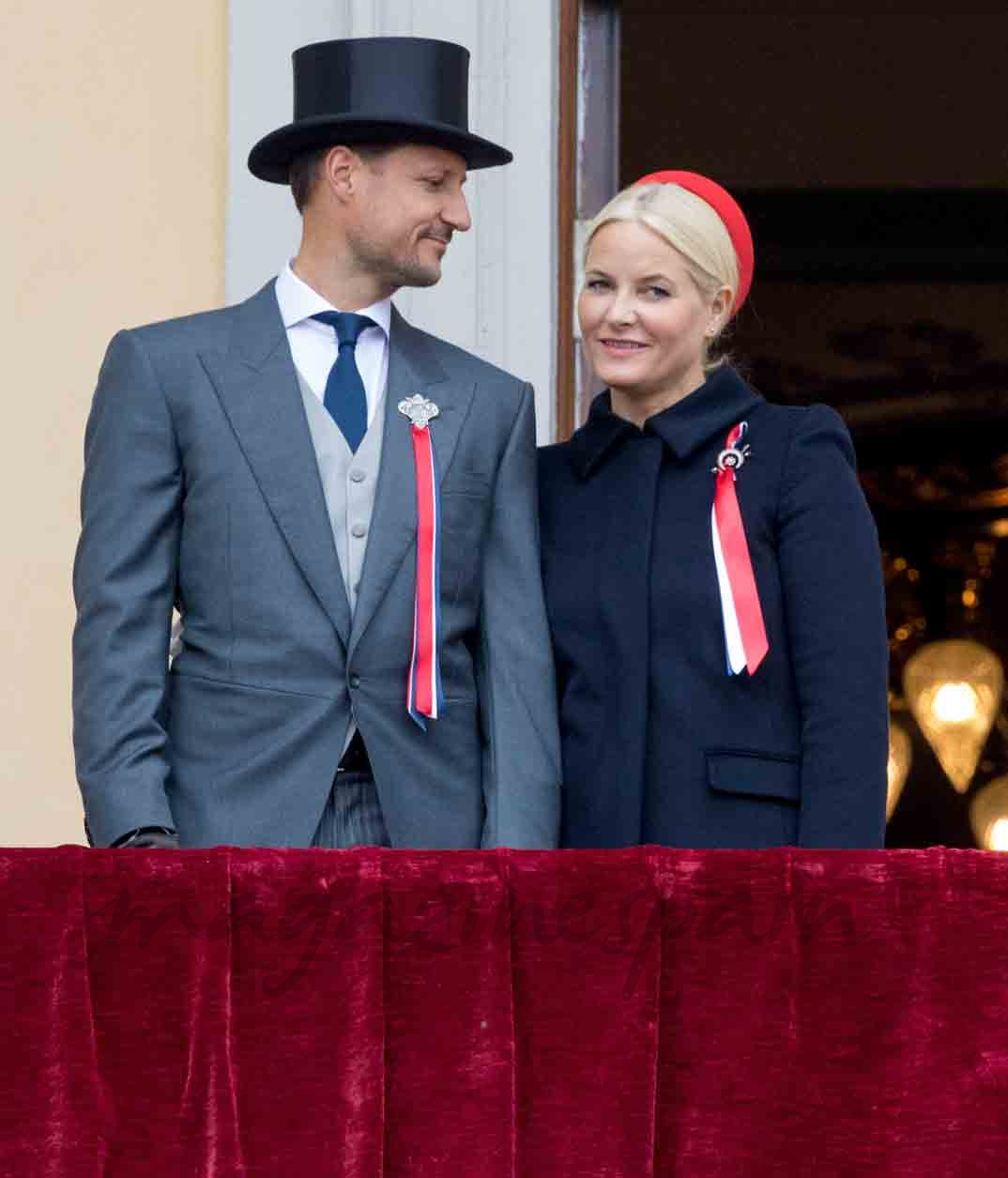 principes de noruega celebran su dia nacional
